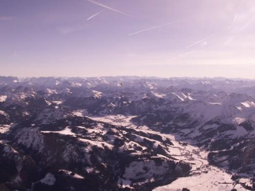 Auf zur Alpenüberquerung im Ballon
