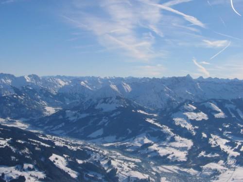 Alpen Ballonfahrt