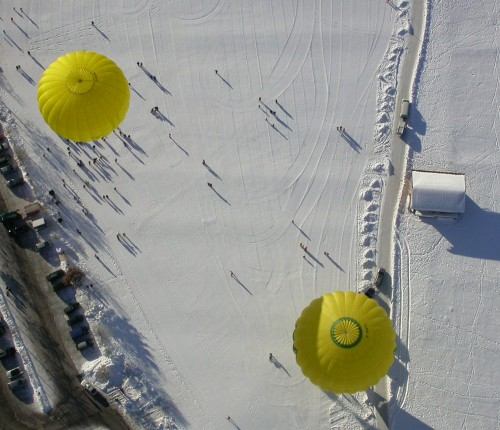 Ballontreffen in den Alpen 2014