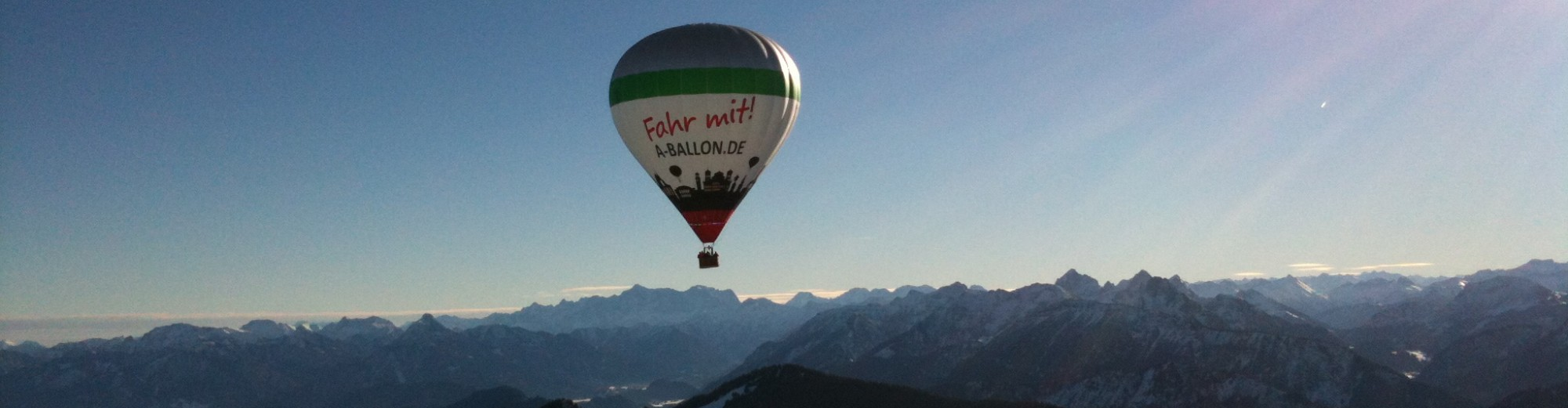 Alpen Ballonfahrt buchen