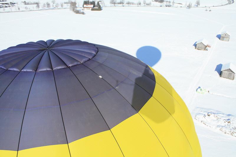 Ballon mit Parachute