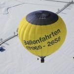 Ballon aus der Luft